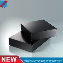 High quality housing 152*44*200/5.98''x1.73''x4.37''(wxhxl)mm  communication electronic enclosure China supplier