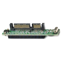 "Hoge Kwaliteit Mini 2.5 ""Ide Hdd Drive 44pin Female Naar 7 + 15pin Man Sata Adapter Converter Card Drop verzending"