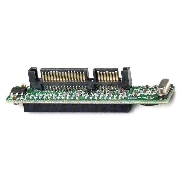 """Hohe Qualität Mini 2.5 """"IDE HDD Drive 44pin Weibliche zu 7 + 15pin Männlichen SATA Adapter Konverter Karte Drop verschiffen"""