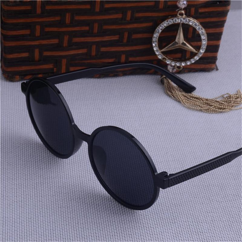 UCOOL Nieuwe Hot Vintage Ronde Lens Zonnebril Mannen Klassieke Gafas - Kledingaccessoires - Foto 3