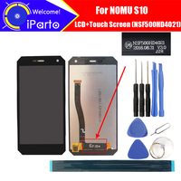 5 0inch NOMU S10 LCD Display Touch Screen NSF500HD4021 Version 100 Original Tested Digitizer Glass Panel