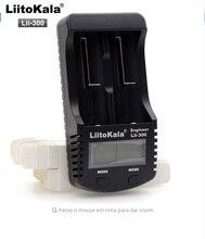 Liitokala lii300 LCD 3.7 V 18650 26650 16340 10440 18500 Baterias De Lítio Cilíndricas, tal como 1.2 v aa aaa carregador de bateria de nimh