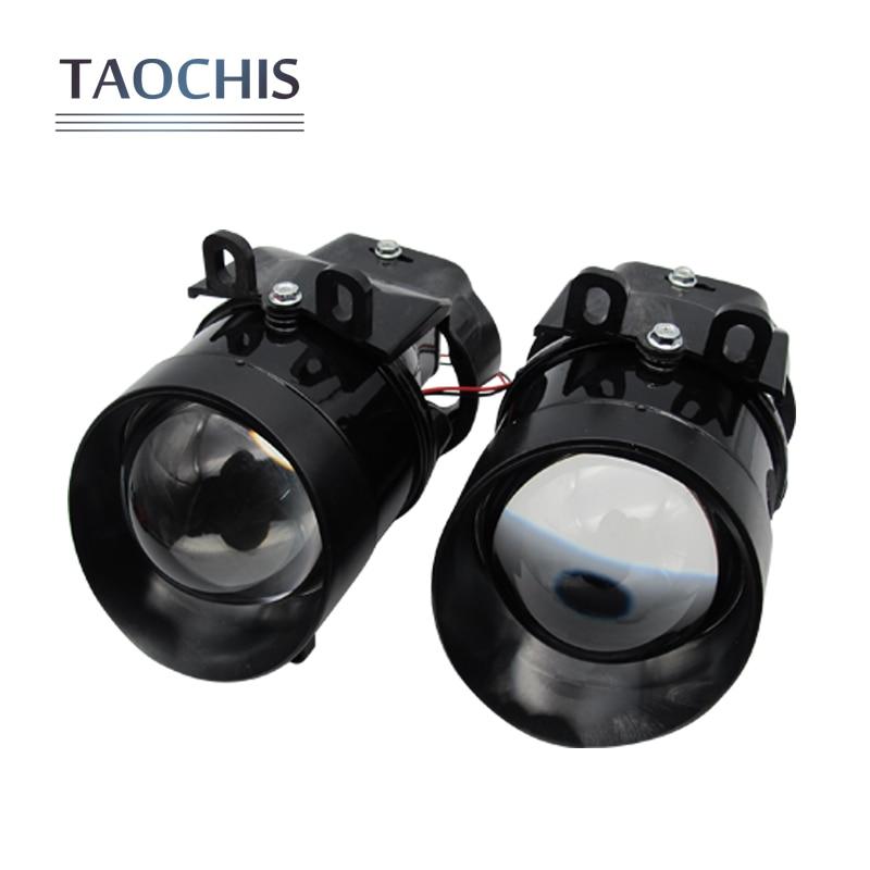 TAOCHIS авто 3.0 дюймов HID би ксенон объектив проектора Противотуманные фары для Тойота Королла Камри РАВ 4 Лексус ВИОС ПРИУС горец Н11