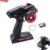 Surpass Hobby 2.4G 4CH Super Response Radio System Transmitter with Receiver For RC Car Boat Tank