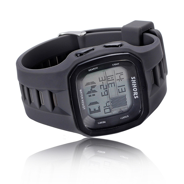 Shhors Brand Sport Digital Watch Men Silicone Watches LED Electronic Wristwatch Waterproof Clock Silicone Army Reloj Hombre 2017 6