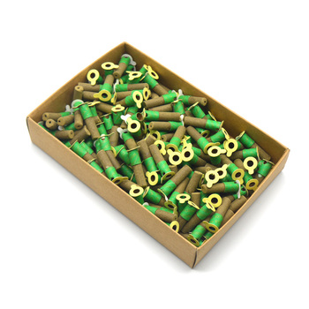 SHARE HO 180pcs Mini Moxa Tube Self-stick Chinese Moxibustion Sticker Therapy Smokeless Burner Heating Acupuntura Point Meridian big brass moxa roll burner meridian massage 10pcs chinese medicine therapy moxibustion health care five years old moxa sticks