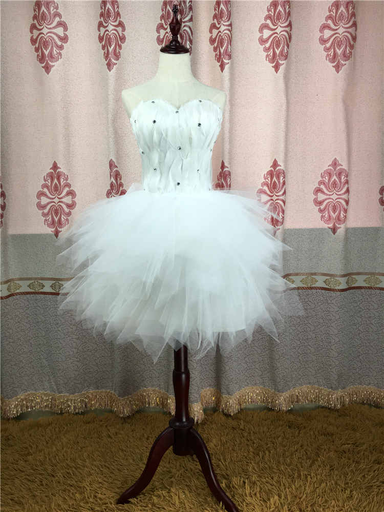 Special Offer Smart Strapless Sweetheart Skinny Feather Multi Color and Style Bridesmaid Dress Unique Party Dress