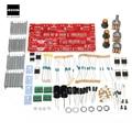 Newest DIY LED Electric Unit TOOL 12V 2x15W TDA2030 Audio Power Amplifier Board AMP Dual Tracks Subwoofer DIY Kit 13.2cm X 7cm