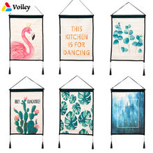 Ins Nordic Style Flamingo Wall Background Hanging Art Cloth Baby Shower Wedding Birthday Party Room Decoration Photo Booth,W(China)