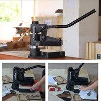 8360 Laser dao khuôn da máy dập áp lực tay lấy mẫu máy manual da khuôn die máy cắt