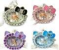 Hello Kitty Niños de La Muchacha de Señora Jewelry Collar Colgante Reloj de Bolsillo Reloj de Navidad Bolsa de Regalo. el Envío Gratuito!
