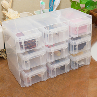 Sealed Storage Box 9 Cells Drawer Type Mini Desktop Food Container Whole Grains Organizer Household Storage