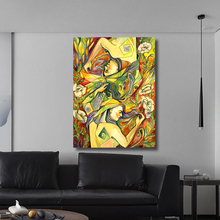 Figure Painting People Sleeping on the Field Oil Canvas Wall Pictures for Living Room Poster and
