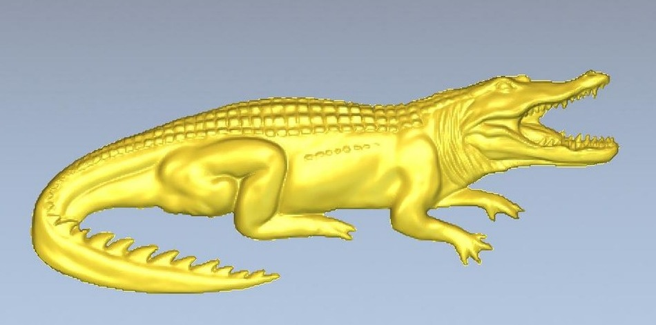 3d model relief  for cnc in STL file format crocodile martyrs faith hope and love and their mother sophia 3d model relief figure stl format religion for cnc in stl file format