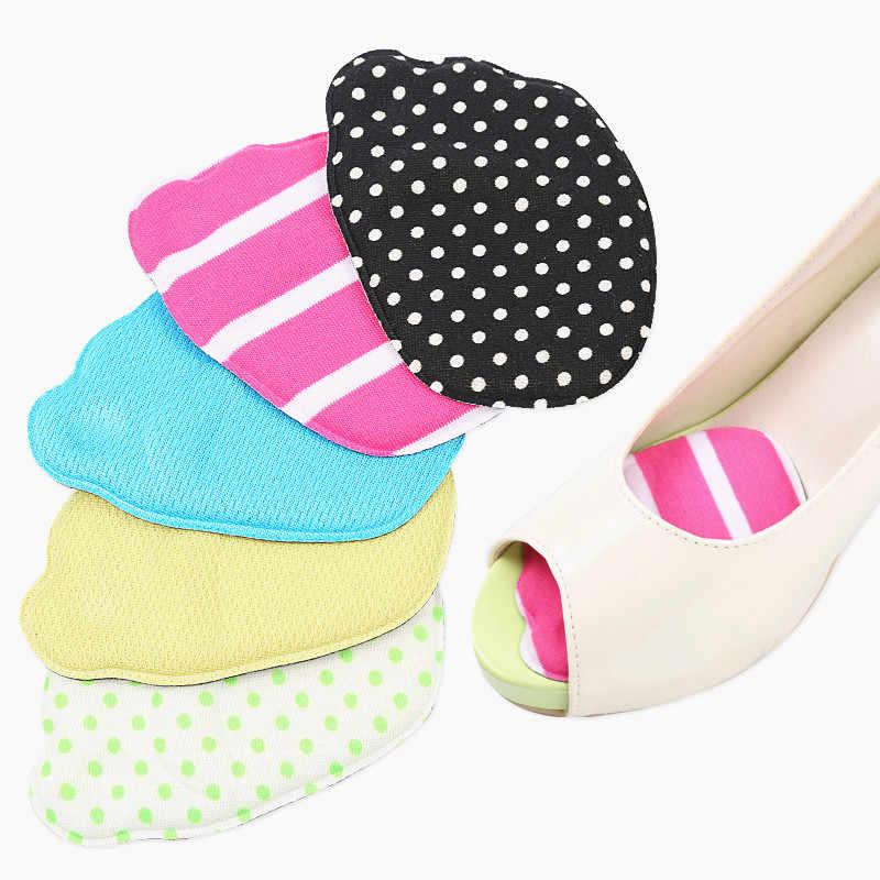 الأمامية نعل الأحذية منصات عالية الكعب لينة نعل المضادة للانزلاق القدم حماية القدم سائد الإسفنج الألم الإغاثة النساء القدم الرعاية