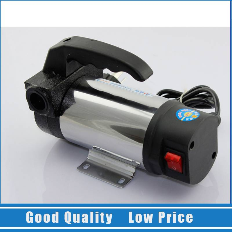 AC 220V Portable Self-priming  Diesel Oil Pump Electric Grease Lubrication Oil Pump manka care 110v 220v ac 50l min 165w small electric piston vacuum pump silent pumps oil less oil free compressing pump
