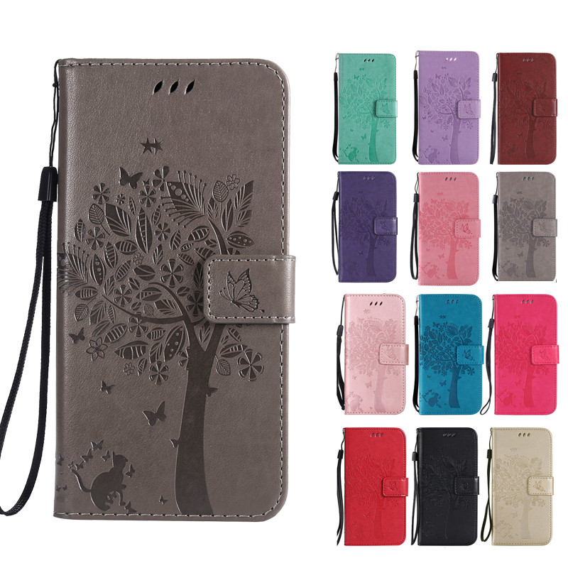 Cover Cat-Tree-Case Life-Jet Compact Fly-View MEGA Mobile-Phone Flip Play For MAX 5S