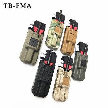 TB-FMA戦術的止血帯 & 止血帯キャリアポーチセットマルチカム屋外エアガン狩猟戦術緊急supplie用