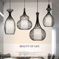 Luces pendientes modernas lustres de sala cocina comedor luminaria suspendu estilo loft polea retro vintage lámpara colgante