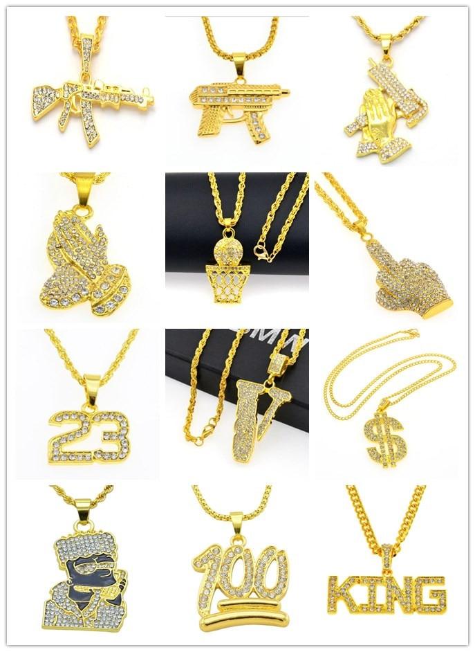 a58af8c16b907 14mm/18mm HipHop Men's Maimi Cuban Link Chain Necklace Silver Gold ...