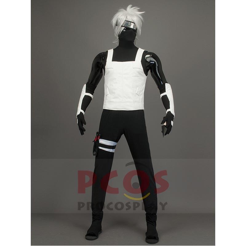 Nejlepší set Naruto Anbu Kakashi Hatake Cosplay Kostým a obuv & - Kostýmy