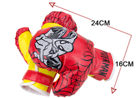 Age 3 10 Years Kids Children Spider MMA Kick Boxing Bag Hanging Muay Thai Gloves Punching