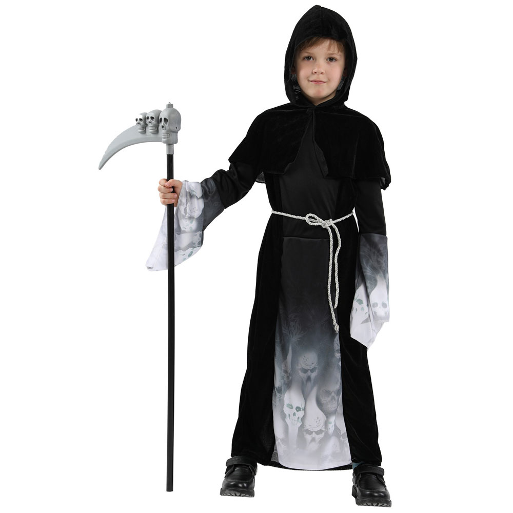 Boys Grim Reaper Halloween Costume
