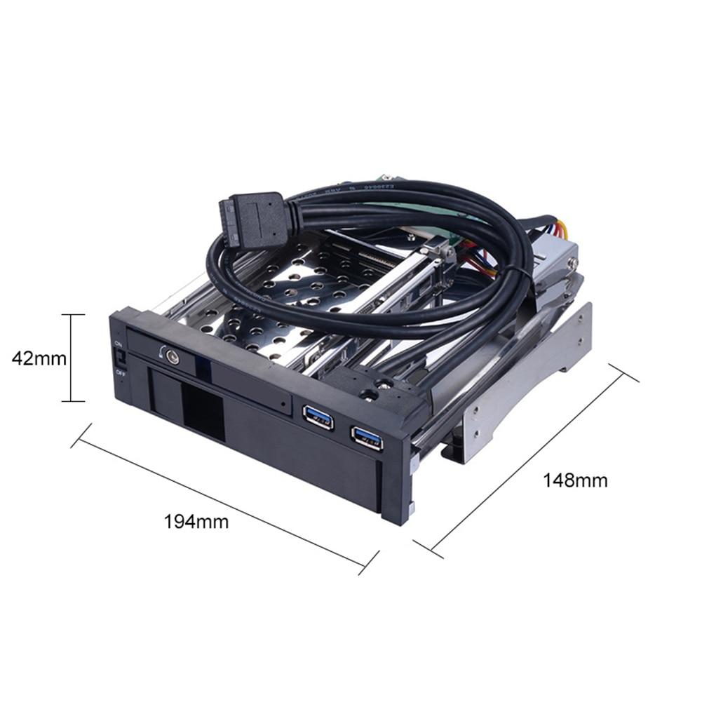 HOT SALE] ST7223UB 2 USB3 0 Port Dual Bay Internal 2 5+3 5