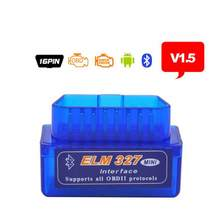2019 A++ Quality Mini Tester OBD 2 Auto Diagnostic Scanner Newest Original V1.5 Super ELM327 OBD2 II Bluetooth ELM 327