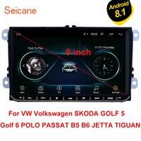 Seicane For VW Volkswagen Golf Polo Tiguan Passa MK5 MK6 Jetta Touran Seat Android 8.1 9 Car Autoradio GPS Multimedia CANBUS 3G