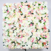 SPR NEW 2018 wedding amazing flower wall panels stage backdrop wedding artificial flower table runner arrangment decorations