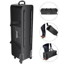 Neewer Photo Studio Equipment Rolling Bag Trolley Carrying Case for Light Stand Tripod Strobe Light Umbrella
