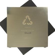 Flexкровать новое обновление 224×254 мм Удаление пружина стального листа предварительно применяется пей печать кровать + магнитная наклейка для 3d принтера MK2S Горячая кровать