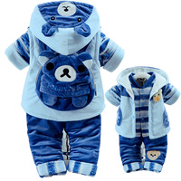 New Winter Autumn Infant Baby S Clothes Add Cotton Padded Thick Clothes Suits 0 1 2T