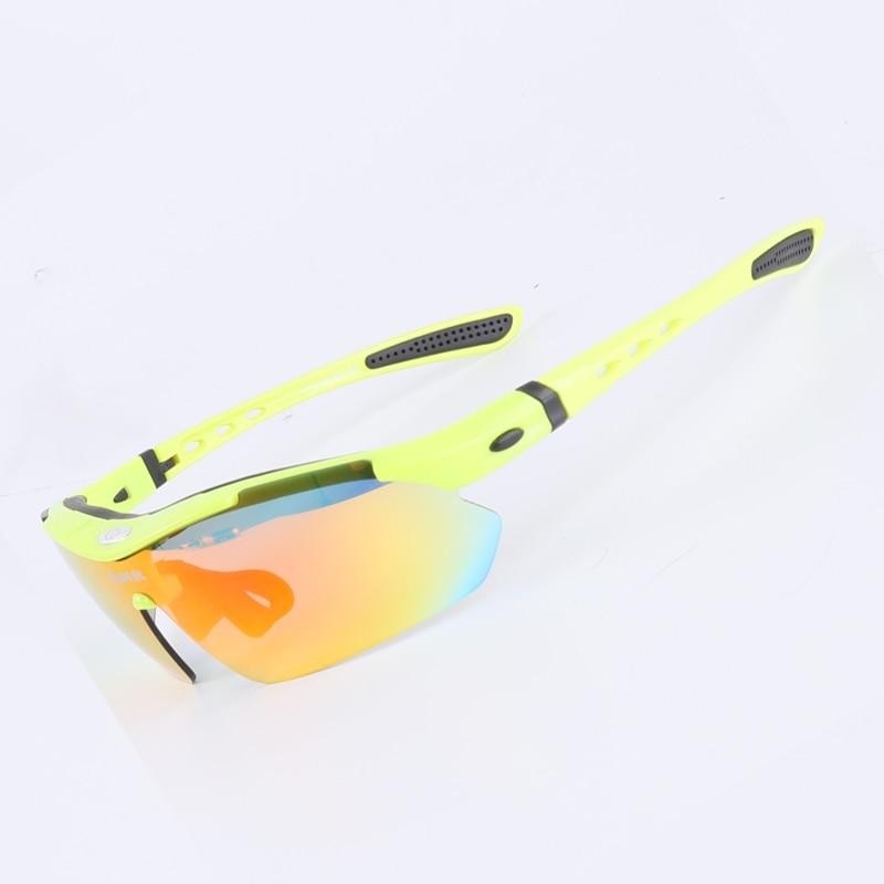 Jiepolly Polarized Radsportbrillen Sportbekleidung Brillen Mit - Radfahren - Foto 5