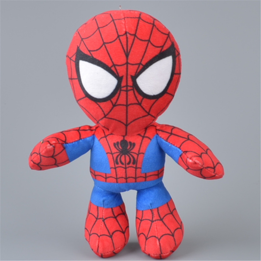 20cm Spider-Man Stuffed Plush Toy, Baby Kids Doll Gift Free Shipping