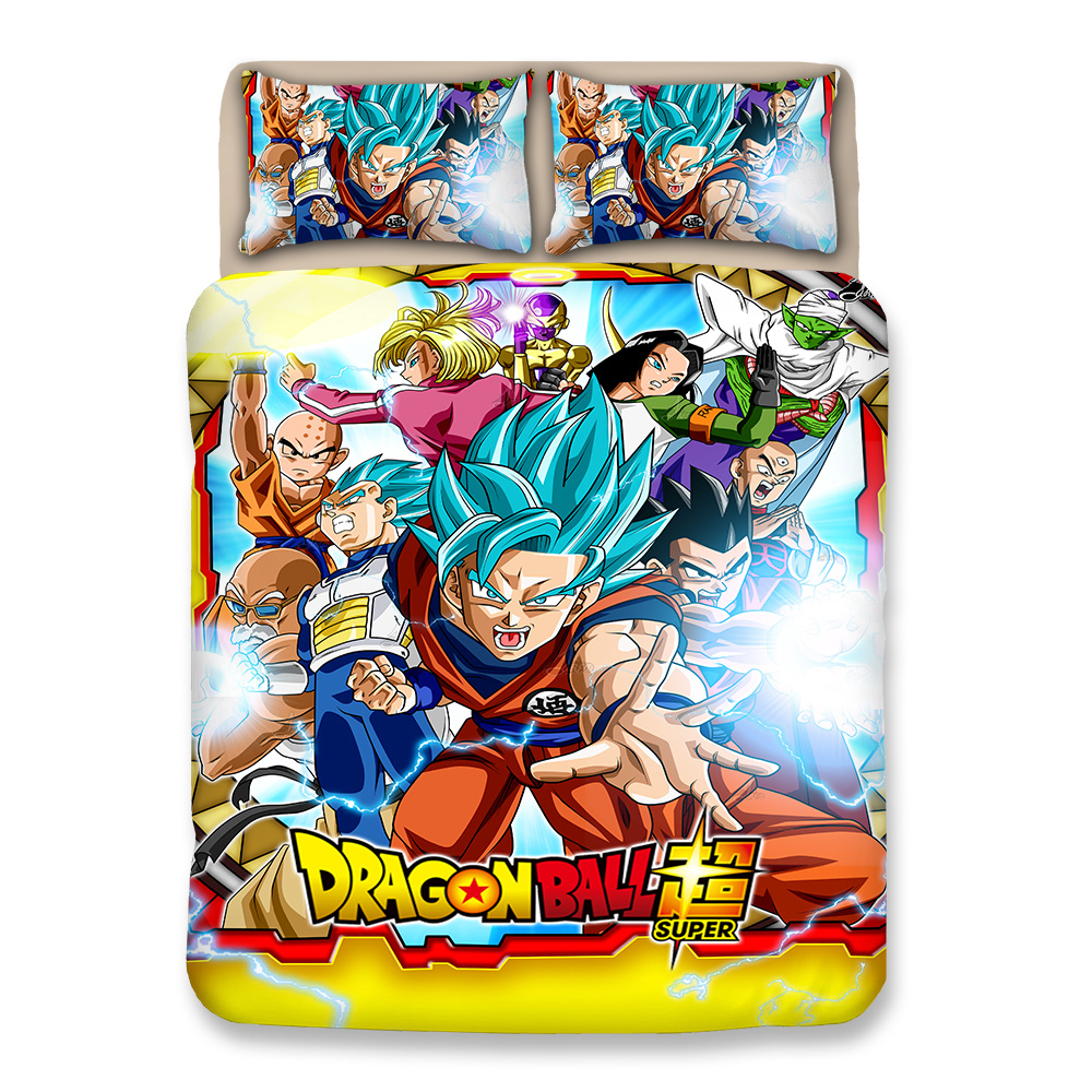 3D Duvet Cover Set Japanese dragonball bedding sets cartoon kids single double king bedclothes full queen twin quilt cover sets3D Duvet Cover Set Japanese dragonball bedding sets cartoon kids single double king bedclothes full queen twin quilt cover sets