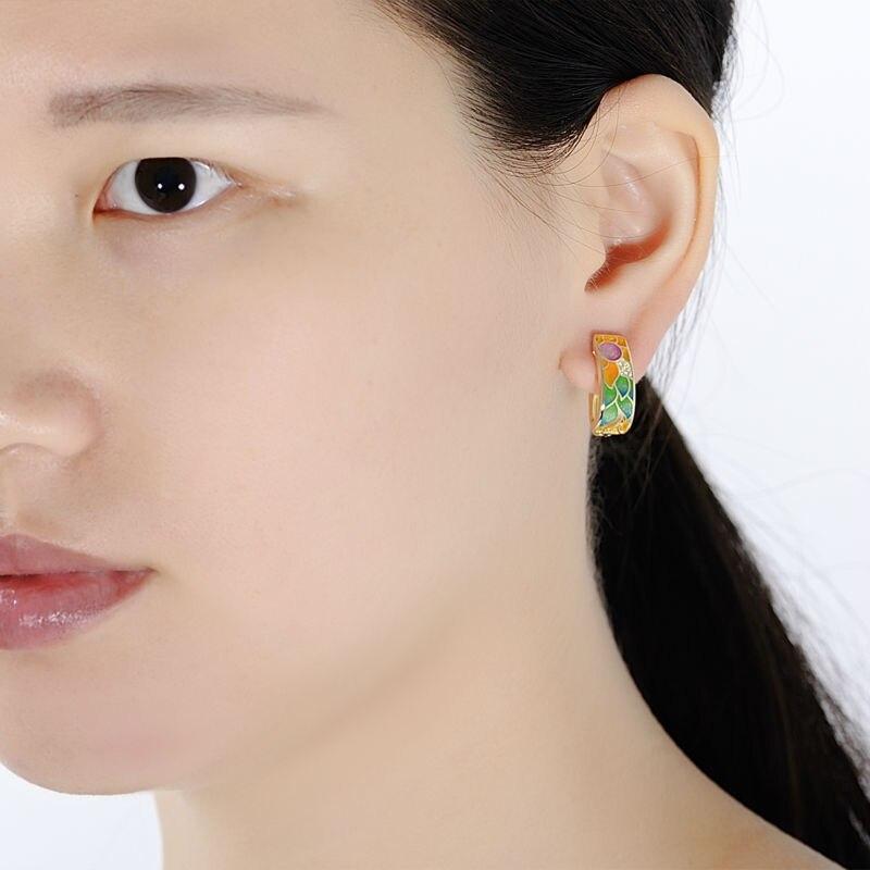 SANTUZZA ασημένια σκουλαρίκια για - Κοσμήματα μόδας - Φωτογραφία 5