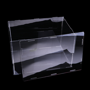 Image 2 - 36x16x16cm Clear Acrylic Display Case Show Box for Action Figures Doll Model