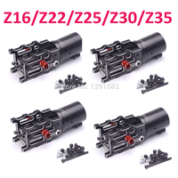 4pcs Z16 Z22 Z25 Z30 Z35 CNC Aluminum Folding Arm Tube Joint DIY for Dia 16mm 22mm 25mm 30mm 35mm Automatic Auto RC Quadcopter