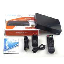 FREESAT V7 COMBO Satellite TV Receiver With IPTV CCCam BISSKEY TV BOX DVBS2/DVBT2 COMBO SET TOP BOX