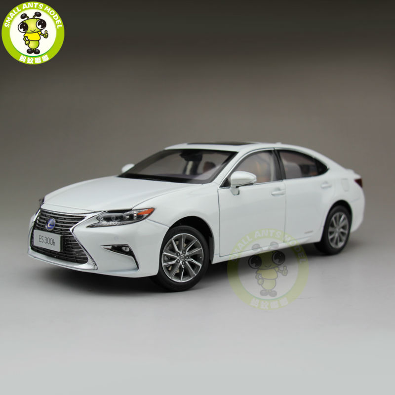 1/18 Toyota Lexus ES 300 ES300H Diecast Model Car Suv hobby collection Gifts White white 1 18 scale lexus rx200t rx 200t suv luxury collection diecast model car aluminum