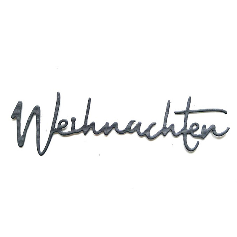 YaMinSanNiO Germany letter alphabet metal cutting dies for Scrapbooking die cut stitch craft dies troqueles stencil new 2019 in Cutting Dies from Home Garden