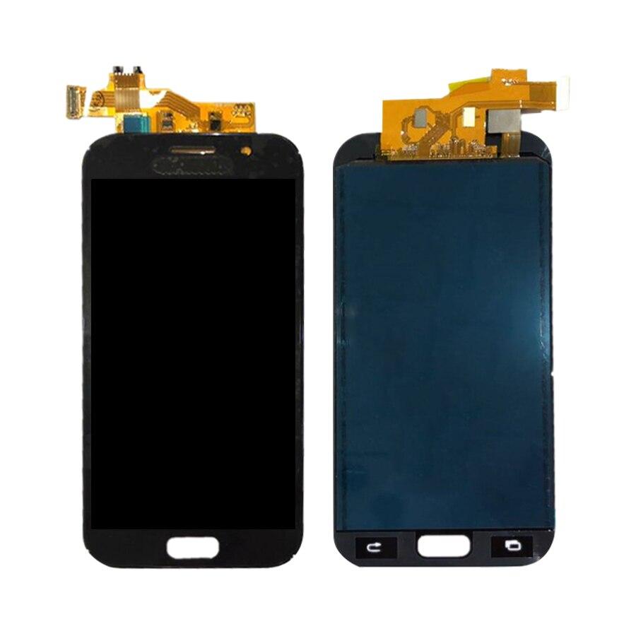 Para Samsung Galaxy A5 2017 A520F SM-A520F A520 LCD pantalla táctil digitalizador montaje de cristal