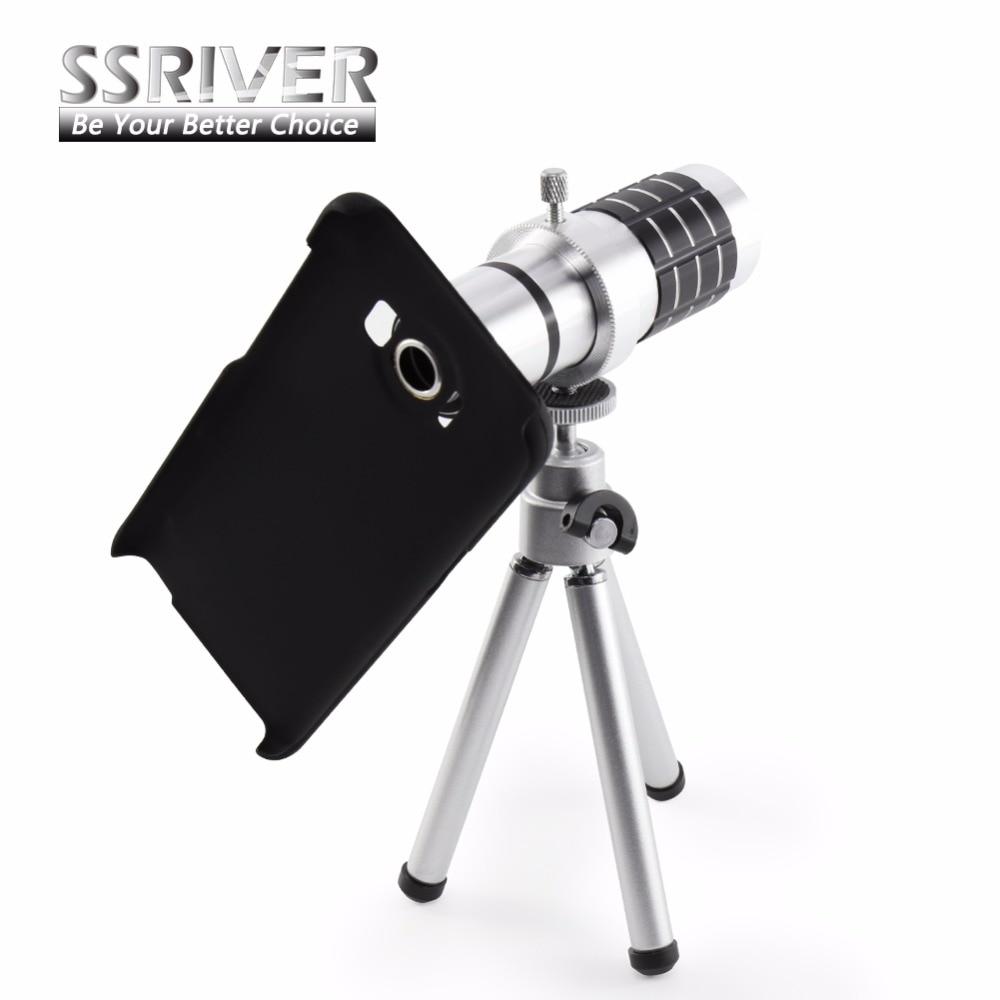 bilder für SSRIVER für Samsung Galaxy S8 & S8 + 12X Zoom Kamera Fall-abdeckung 12X Zoom Smartphone objektiv Stativ Fall objektiv
