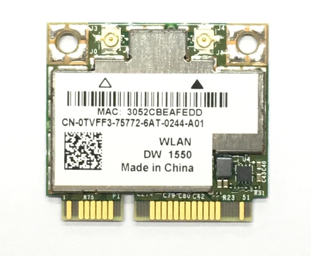 NEW AzureWave Broadcom BCM94352HMB BCM94352 802.11/ac 867Mbps wifi Half Mini PCI E DW1550 Wireless Card with Bluetooth|Network Cards| |  - title=