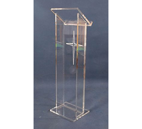 Floor Standing Cheap Transparent Speaker Stands Acrylic Rostrum Acrylic Podiums Pulpits Acrylic Lectern Pulpit
