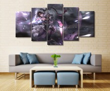 HD Print Painting Canvas Wall Art Picture 5 Pieces DOTA 2 Game  Home Decoration Living Room Modern Home Decor Picture Artwork modern artwork home decor living room or bedroom 5 piece wall painting canvas print dota 2 vengeful spirit angel game picture