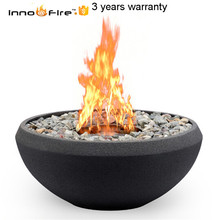 8 литров ручной круглый биоэтаноловый камин из нержавеющей стали