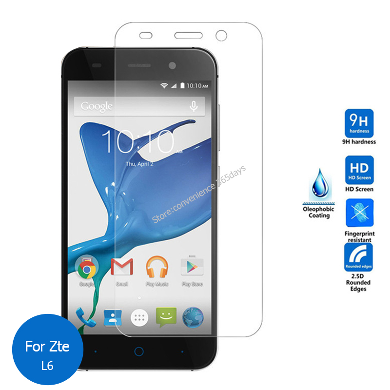 Tempered Glass For Zte Blade L110 L2 L3 L4 Pro L5 Plus L6 L7 Screen Protector 2.5 Safety Protective Film On L 110 2 3 4 5 6 7
